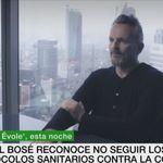 Miguel Bosé reniega del PSOE y responde a la pregunta de a quién votaría
