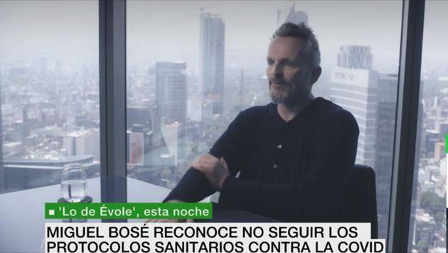 Miguel Bosé, en 'Lo de