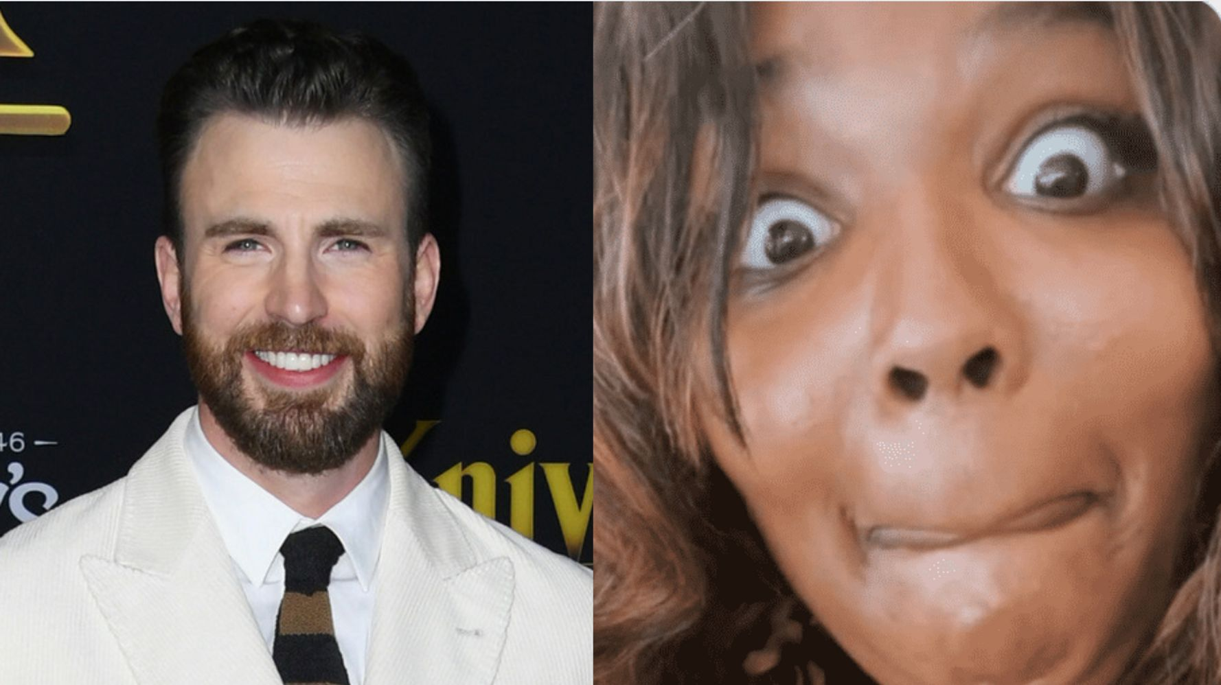 Lizzo Drunkenly Slid Into Chris Evans' DMs Like A Real Superhero