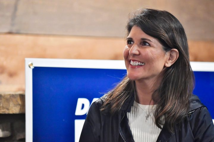 Nikki Haley, considered a top-tier Republican candidate, said she would not run for the White House in 2024 if Trump ran agai