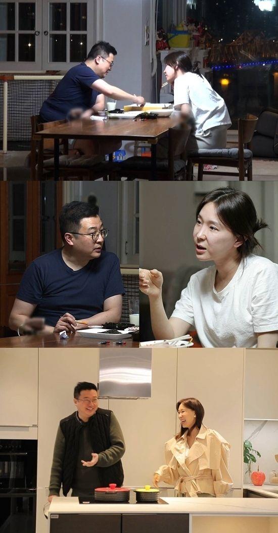 SBS '동상이몽 2' 이지혜-문재완