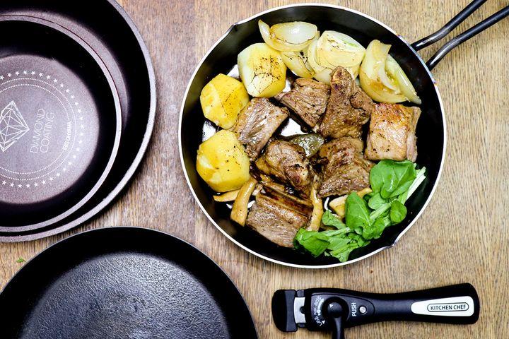 こびりつかないフライパンがあれば、日々の料理のストレスも軽減できる