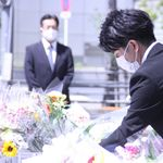 池袋暴走事故の遺族「だれにも被害者や加害者になってほしくない」。献花台は花束で埋まった