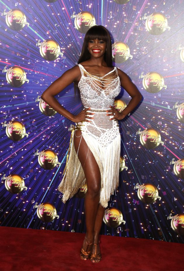 Strictly pro Oti Mabuse at the show's red carpet launch in