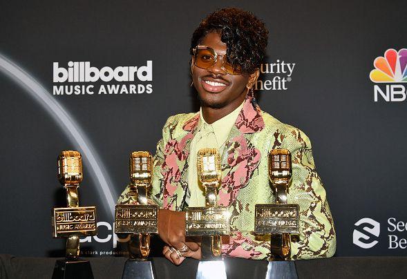 Lil Nas X au Billboard Music Awards le 14 octobre