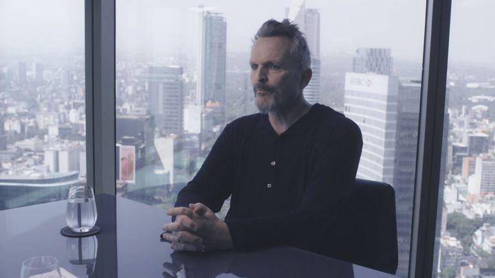 Miguel Bosé durante su entrevista con Jordi Évole en 'Lo de Évole'.