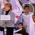 'Cazan' a un conocido político en un mitin de Aguirre en 2003: imposible que lo