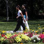 Μια βόλτα στον εθνικό κήπο - και μια ματιά στην ιστορία
