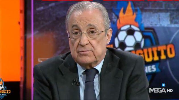 Florentino Pérez en 'El Chiringuito de