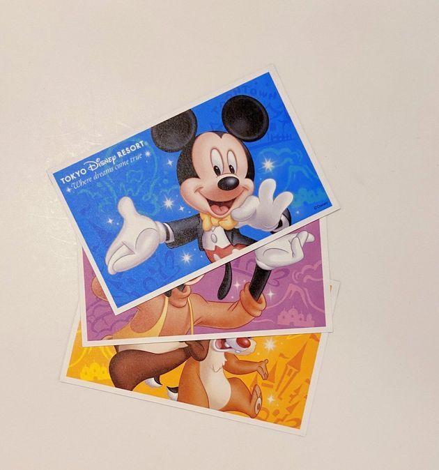 東京ディズニーランド・シーの入園パスポート(※現在は、全てオンラインによる入園)