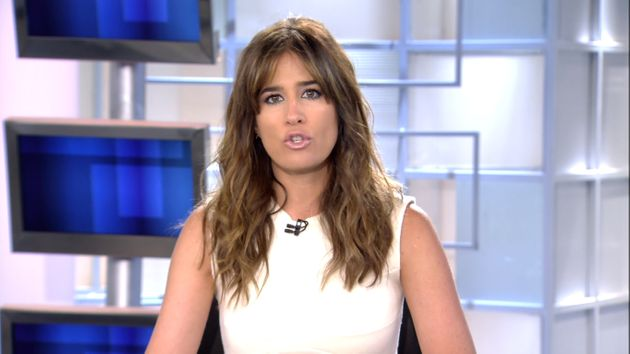 Isabel Jiménez en 'Informativos Telecinco' este