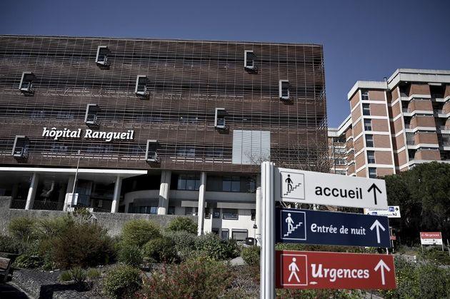 Une photo de l'hôpital de Rangueil à Toulouse le 4 avril