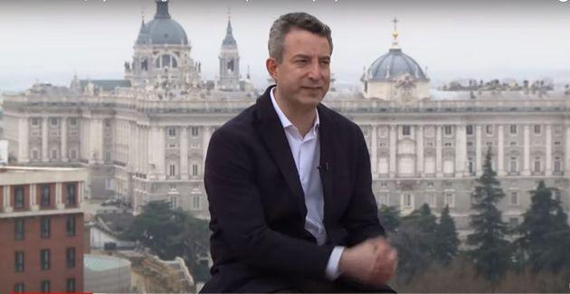El médico César Carballo, en una entrevista en 'Russia
