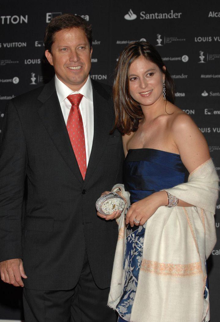 Chabeli Iglesias y su marido, Christian Altaba