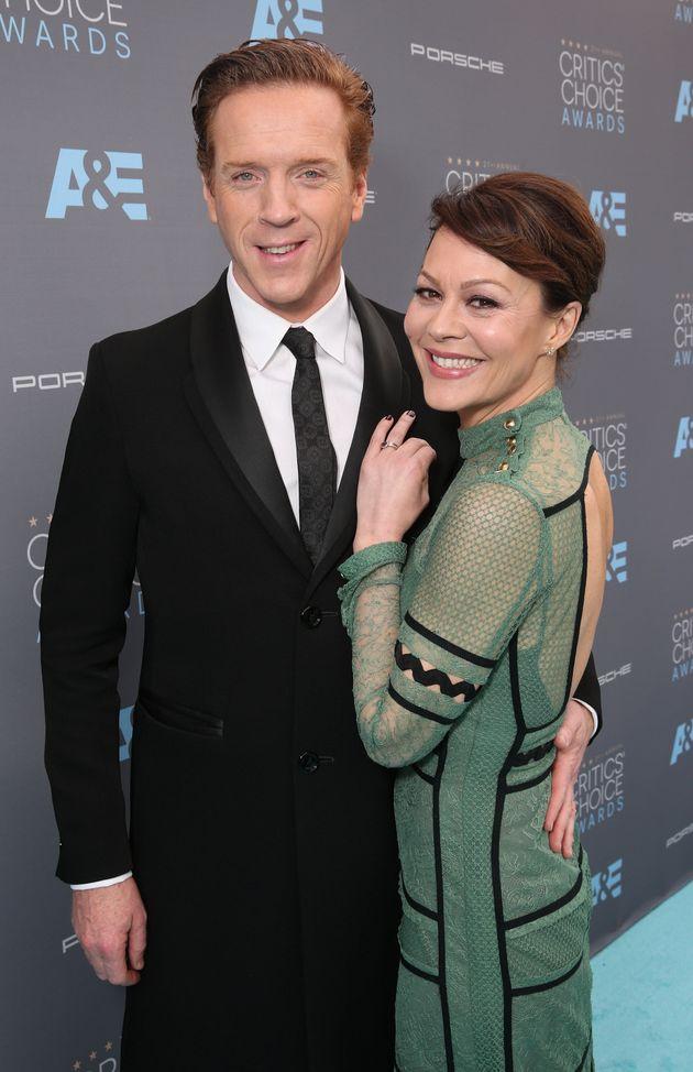 Helen with husband Damien