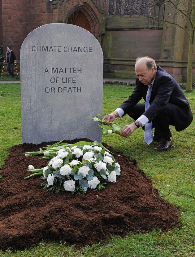 2009 - Ο James Hansen σε μια κινητοποίηση...