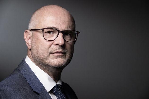 Laurent Pietraszewski, ministre en charge des Retraites et de la Santé au travail.(JOEL SAGET...
