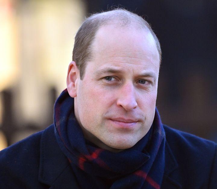 El príncipe Guillermo, duque de Cambridge.