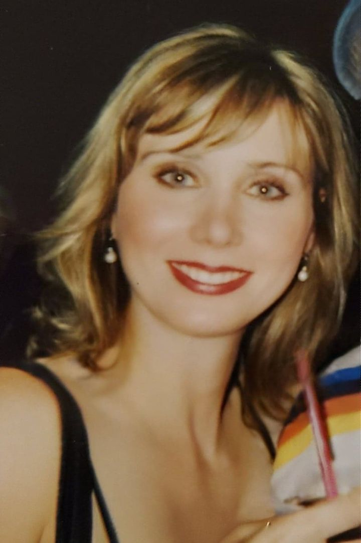 The author at Flashbacks, the nightclub in Madison, Wisconsin, where she met the men who sexually assaulted her, in 2005.