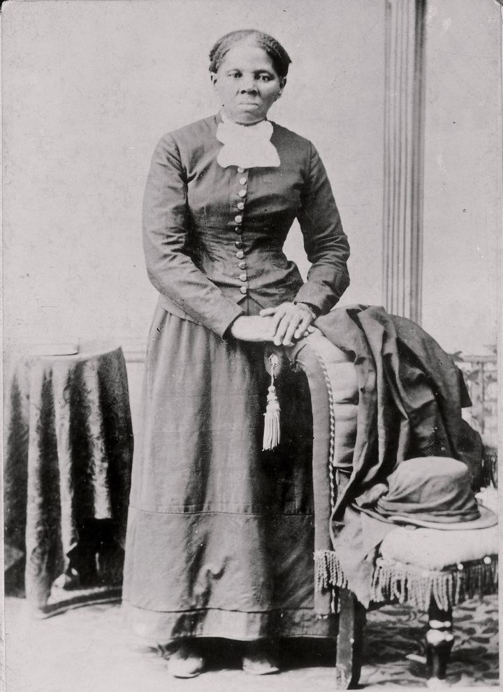 Harriet Tubman in a photograph dating from 1860-75. She escaped from slavery as a young woman and eventually helped lead doze