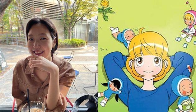'유미의 세포들' 유미 역(오른쪽)으로 캐스팅된