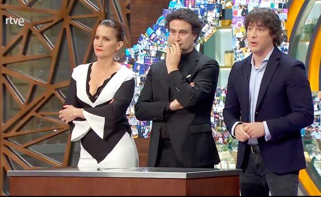 Samantha Vallejo-Nágera, Pepe Rodríguez y Jordi Cruz, en