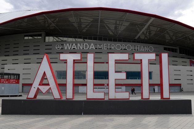 Imagen de campo de fútbol del Atlético de