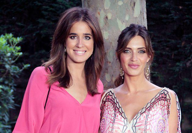 Las periodistas Sara Carbonero e Isabel