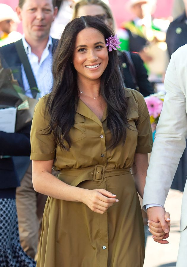 Meghan Markle during a visit to South Africa in