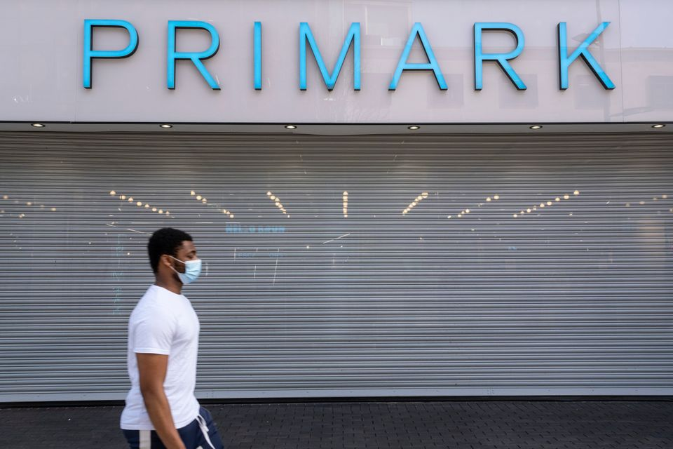 Primark in Birmingham, which was among the