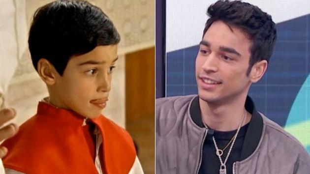 Daniel Arias a los 8 años en 'Cuéntame' y recientemente en 'La hora de La 1'.