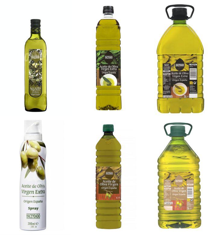 Oferta de aceite virgen y virgen extra de Mercadona.