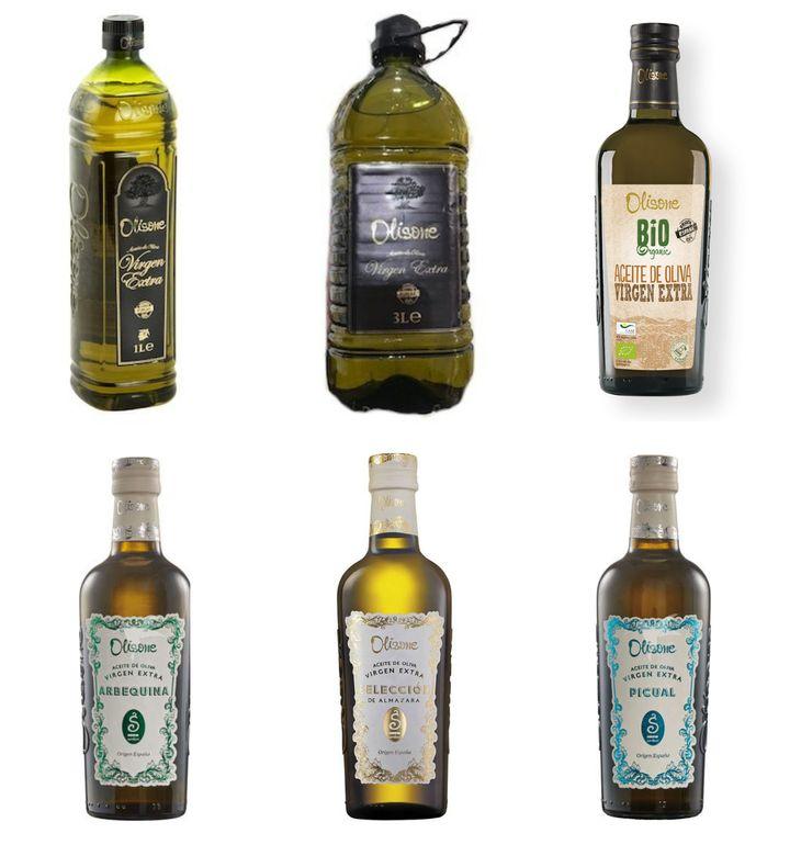 Oferta de aceites de oliva virgen extra de Lidl.