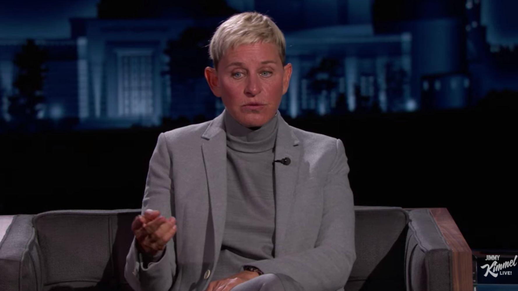 Ellen DeGeneres shares a wild weed drink story with her husband Portia de Rossi