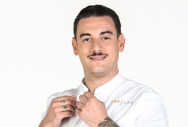"""Arnaud Baptiste, le candidat éliminé de la compétition de """"Top Chef"""""""