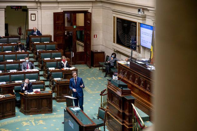 En Belgique, le délabrement du Parlement exposé sur un compte Instagram (photo d'illustration...