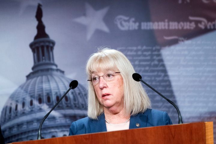 """Sen. Patty Murray (D-Wash.), a former preschool teacher who first ran for the Senate in 1992 as """"just a mom in tennis shoes,"""""""