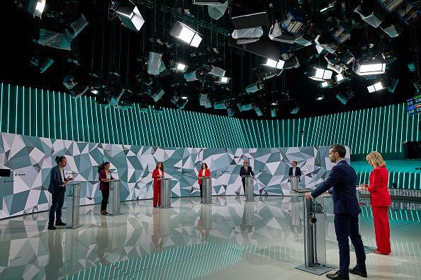 Imagen del debate en