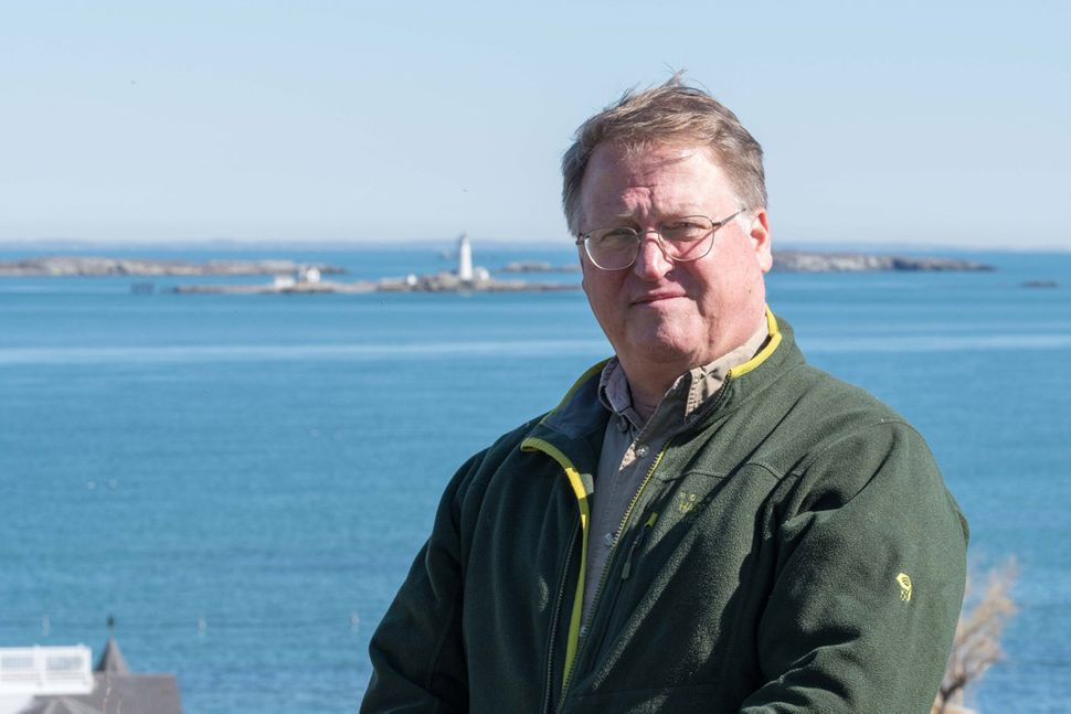Charles McCreery worked as an oceanographer at the Bureau of Ocean Energy Management from 2013 to 2018. He's pictured here at