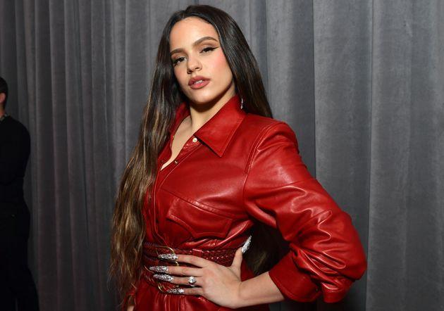 La cantante Rosalía en la ceremonia de los Grammy de