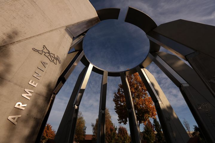 The Armenian Genocide Centennial Memorial on the campus of California State University, Fresno.