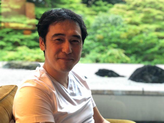 NFTについて語る、京都大学大学院特任准教授の山本康正氏=2021年4月、東京都内