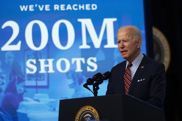 President Joe Biden said this week the U.S. had distributed 200 million shots of the COVID-19 vaccines.