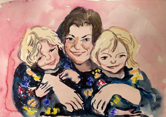 켈리 피츠기본스(40)와 어린 딸 에바(와 렉시는 2020년 4월 세상을 떠났다. 피츠기본스의 남편이자 아이들의 친부인 로버트 니드햄은은 이들을 살해한 후 극단적인 선택을