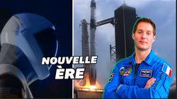 Thomas Pesquet sur l'ISS grâce à SpaceX, le symbole d'un
