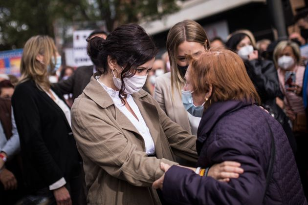 Isabel Díaz Ayuso, durante un acto en