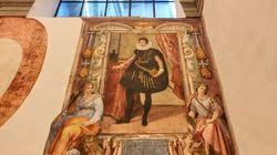 Meraviglia agli Uffizi: durante i lavori di restauro spuntano due affreschi
