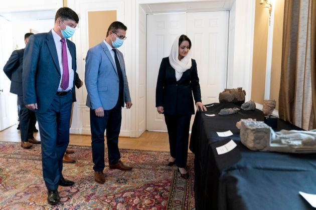 Αρχαία αντικείμενα επιστρέφουν στο Αφγανιστάν: Κατασχέθηκαν από αρχαιοκάπηλο στην Νέα
