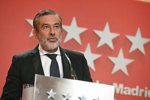 consejero madrileño Enrique López, secretario de Justicia en la dirección del Partido