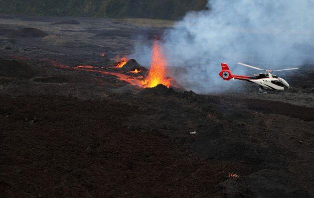 À La Réunion, deux randonneurs venus voir l'éruption du Piton de la Fournaise retrouvés...